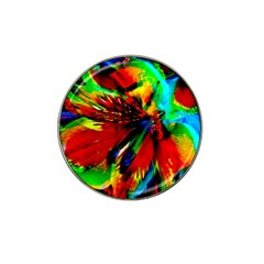 Flowers With Color Kick 1 Hat Clip Ball Marker