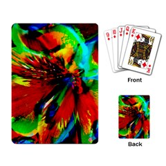 Flowers With Color Kick 1 Playing Card