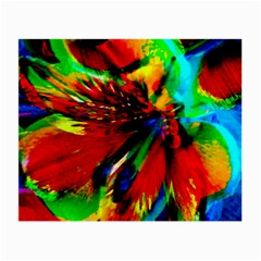 Flowers With Color Kick 1 Small Glasses Cloth (2 Side)