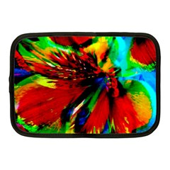 Flowers With Color Kick 1 Netbook Case (medium)