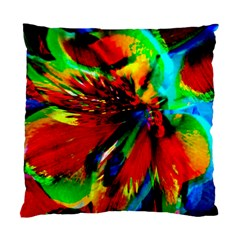 Flowers With Color Kick 1 Standard Cushion Case (one Side)