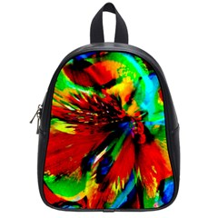 Flowers With Color Kick 1 School Bag (small)