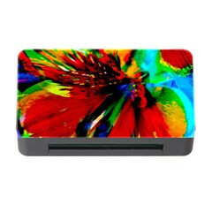 Flowers With Color Kick 1 Memory Card Reader With Cf