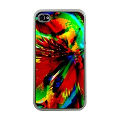 Flowers With Color Kick 1 Apple Iphone 4 Case (clear)