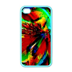 Flowers With Color Kick 1 Apple Iphone 4 Case (color)