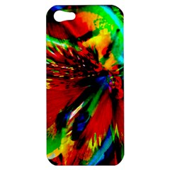 Flowers With Color Kick 1 Apple Iphone 5 Hardshell Case