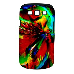 Flowers With Color Kick 1 Samsung Galaxy S Iii Classic Hardshell Case (pc+silicone)
