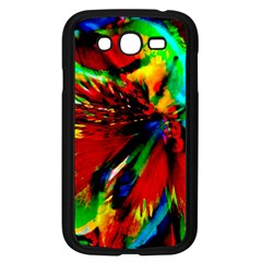Flowers With Color Kick 1 Samsung Galaxy Grand Duos I9082 Case (black)