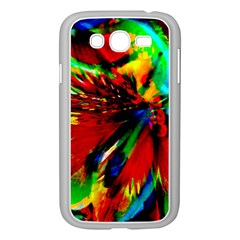 Flowers With Color Kick 1 Samsung Galaxy Grand Duos I9082 Case (white)