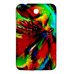 Flowers With Color Kick 1 Samsung Galaxy Tab 3 (7 ) P3200 Hardshell Case