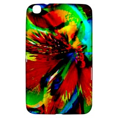 Flowers With Color Kick 1 Samsung Galaxy Tab 3 (8 ) T3100 Hardshell Case