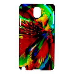 Flowers With Color Kick 1 Samsung Galaxy Note 3 N9005 Hardshell Case