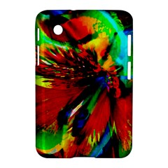 Flowers With Color Kick 1 Samsung Galaxy Tab 2 (7 ) P3100 Hardshell Case