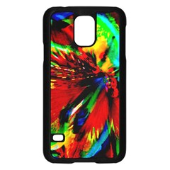 Flowers With Color Kick 1 Samsung Galaxy S5 Case (black)