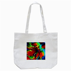 Flowers With Color Kick 1 Tote Bag (white)