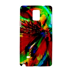 Flowers With Color Kick 1 Samsung Galaxy Note 4 Hardshell Case