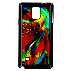 Flowers With Color Kick 1 Samsung Galaxy Note 4 Case (black)