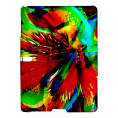 Flowers With Color Kick 1 Samsung Galaxy Tab S (10 5 ) Hardshell Case