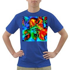 Flowers With Color Kick 2 Dark T Shirt