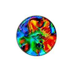 Flowers With Color Kick 2 Hat Clip Ball Marker (10 Pack)