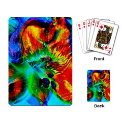 Flowers With Color Kick 2 Playing Card
