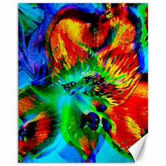 Flowers With Color Kick 2 Canvas 11  X 14