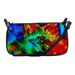 Flowers With Color Kick 2 Shoulder Clutch Bags