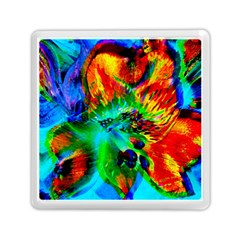 Flowers With Color Kick 2 Memory Card Reader (square)
