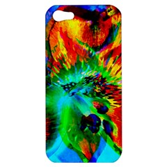 Flowers With Color Kick 2 Apple Iphone 5 Hardshell Case