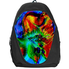 Flowers With Color Kick 2 Backpack Bag
