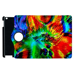 Flowers With Color Kick 2 Apple Ipad 2 Flip 360 Case