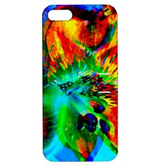 Flowers With Color Kick 2 Apple Iphone 5 Hardshell Case With Stand