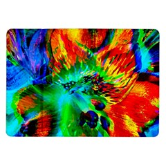 Flowers With Color Kick 2 Samsung Galaxy Tab 10 1  P7500 Flip Case