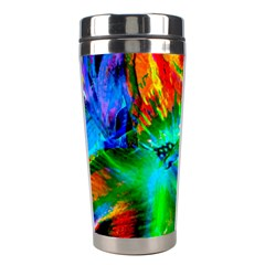 Flowers With Color Kick 2 Stainless Steel Travel Tumblers