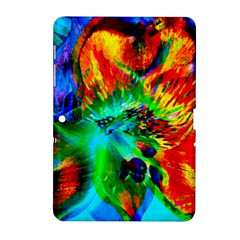 Flowers With Color Kick 2 Samsung Galaxy Tab 2 (10 1 ) P5100 Hardshell Case