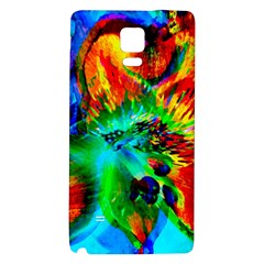 Flowers With Color Kick 2 Galaxy Note 4 Back Case