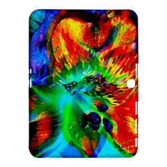 Flowers With Color Kick 2 Samsung Galaxy Tab 4 (10 1 ) Hardshell Case