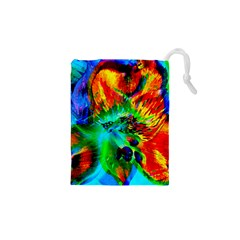 Flowers With Color Kick 2 Drawstring Pouches (xs)