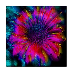 Flowers With Color Kick 3 Tile Coasters