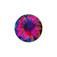 Flowers With Color Kick 3 Golf Ball Marker (10 Pack)