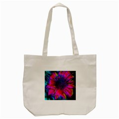Flowers With Color Kick 3 Tote Bag (cream)
