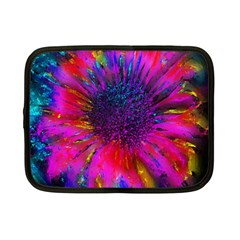 Flowers With Color Kick 3 Netbook Case (small)