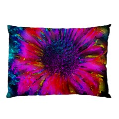 Flowers With Color Kick 3 Pillow Case