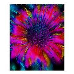 Flowers With Color Kick 3 Shower Curtain 60  X 72  (medium)