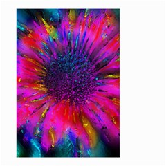 Flowers With Color Kick 3 Small Garden Flag (two Sides)