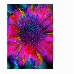 Flowers With Color Kick 3 Large Garden Flag (two Sides)