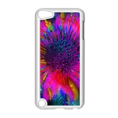 Flowers With Color Kick 3 Apple Ipod Touch 5 Case (white)