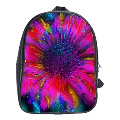 Flowers With Color Kick 3 School Bag (xl)