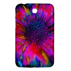 Flowers With Color Kick 3 Samsung Galaxy Tab 3 (7 ) P3200 Hardshell Case