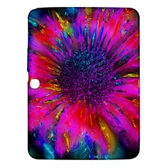 Flowers With Color Kick 3 Samsung Galaxy Tab 3 (10 1 ) P5200 Hardshell Case
